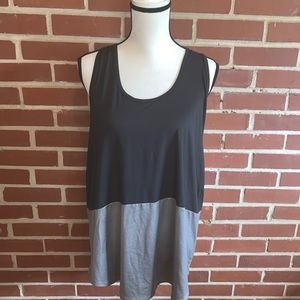 NWOT Champion Color Block Shimmer Tank Top